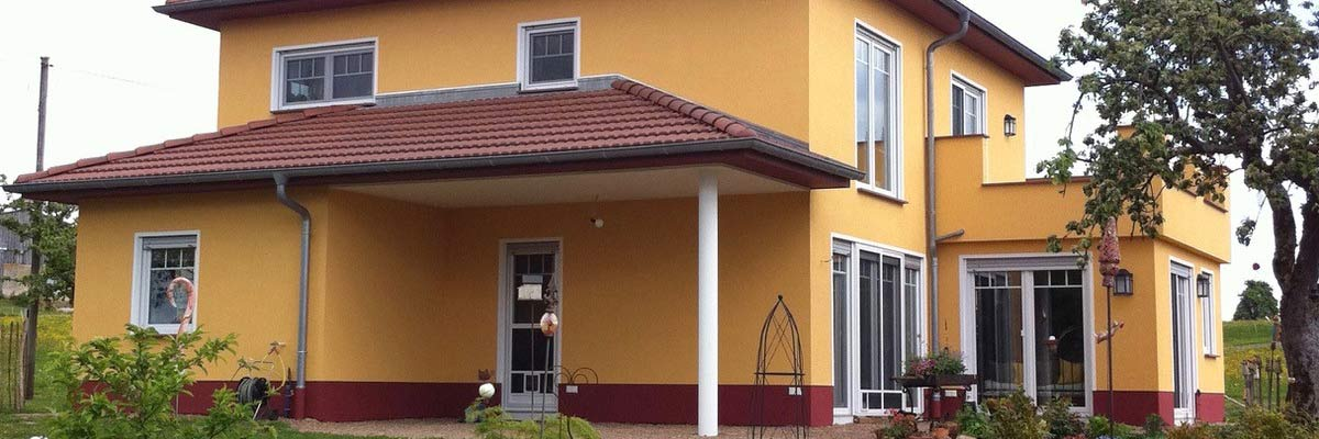 Fassadengestaltung - Farb Konzept, Klingenberg a. Main