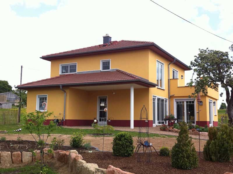 Fassadengestaltung: Wohnhaus