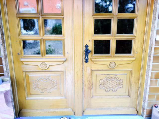 Restauration: Türen