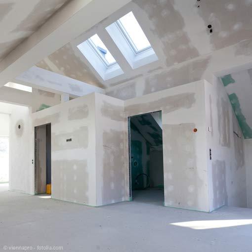Ausbau Dachgeschoss in Trockenbauweise
